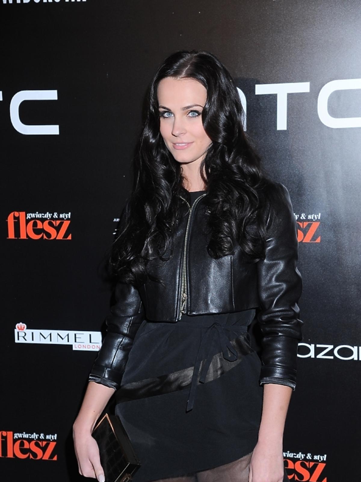 Marcela Chmielowska na imprezie Flesz Fashion Night