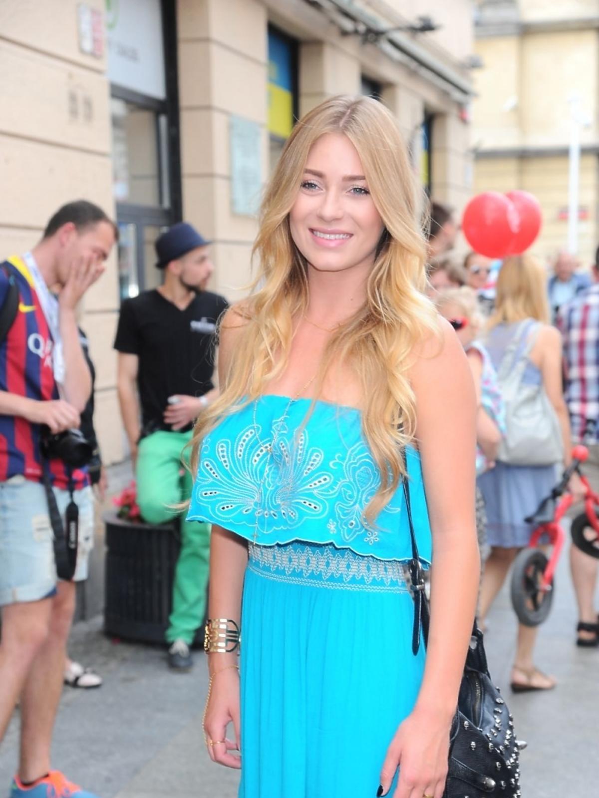Marcelina Zawadzk na Street Fashion