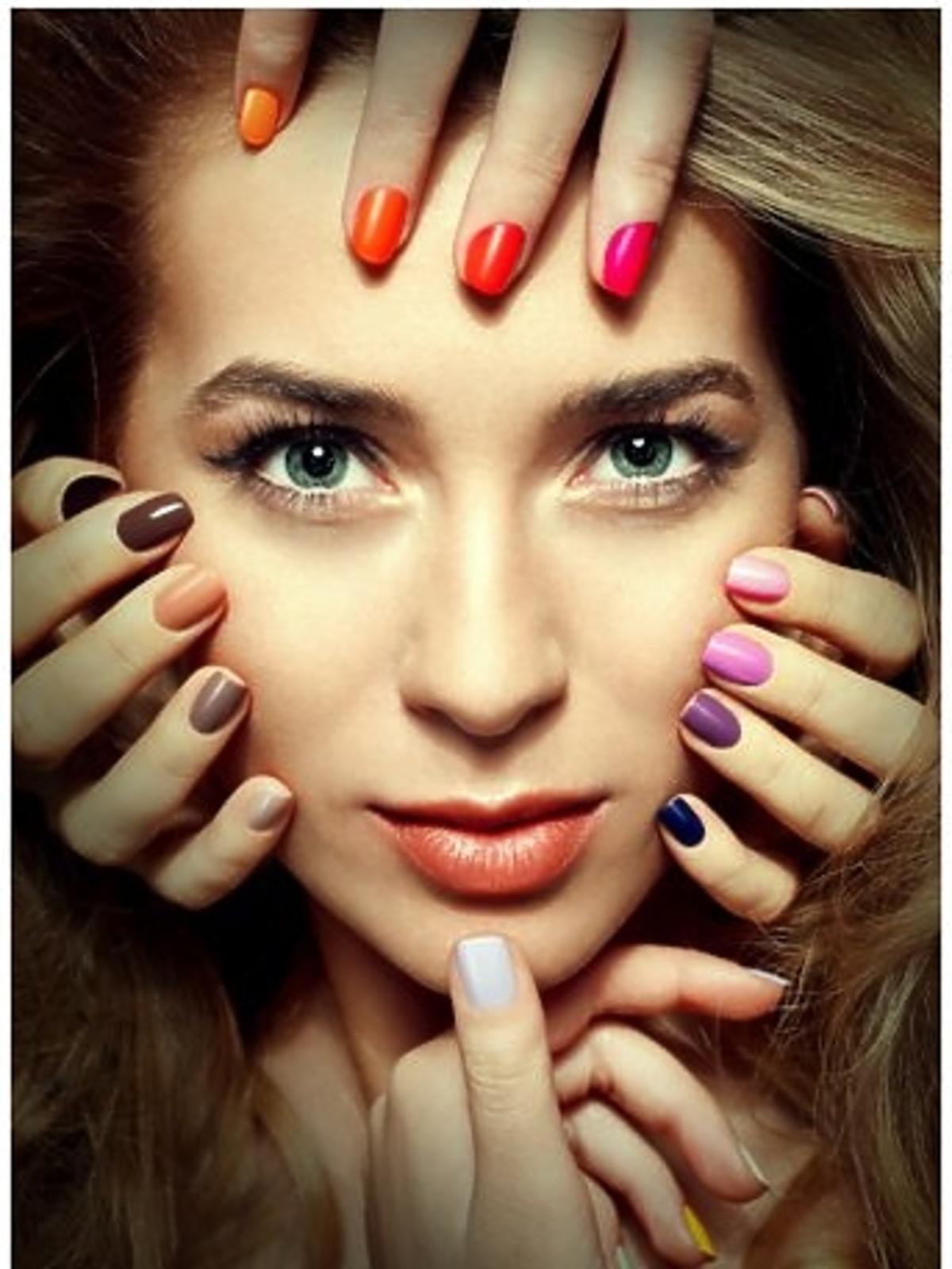 Marcelina Zawadzka w kampanii marki Ekert Nails