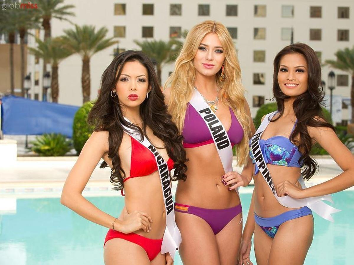 Marcelina Zawadzka w Las Vegas na konkursie Miss Universe