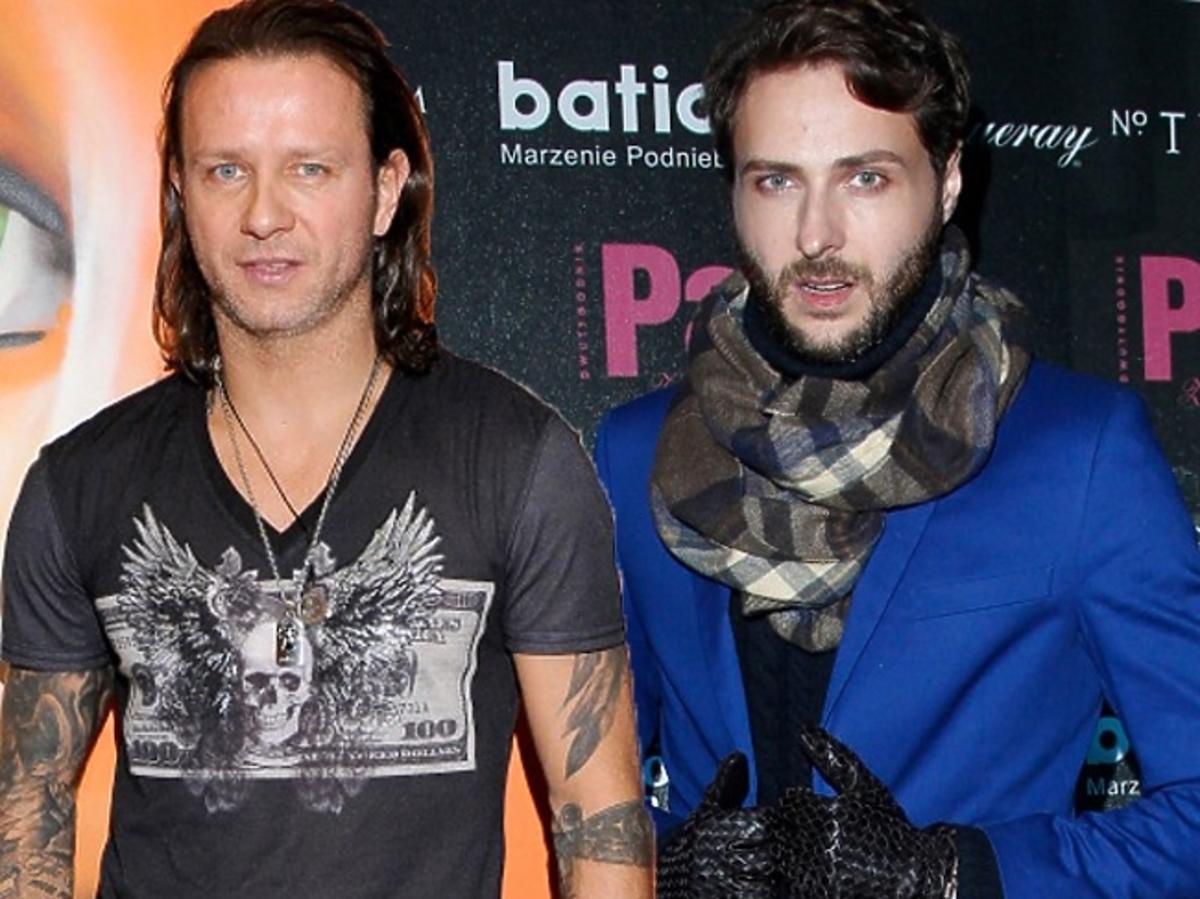 Marcin Cejrowski i Guess Marciano
