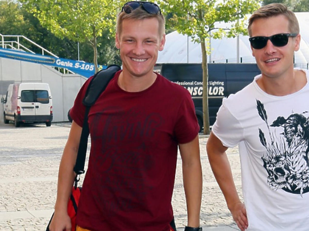 Marcin i Rafał Mroczek grają w tym samym przedstawieniu