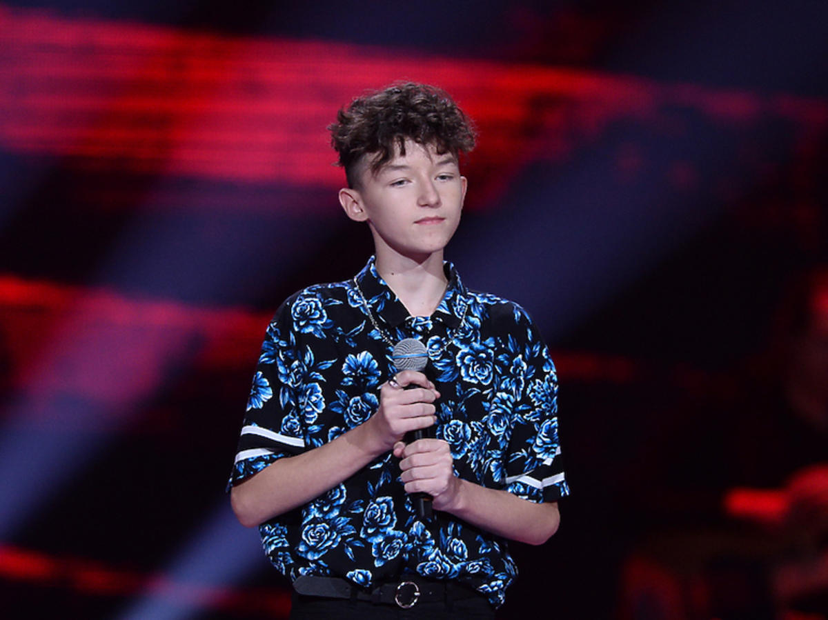 Marcin Maciejczak w The Voice Kids