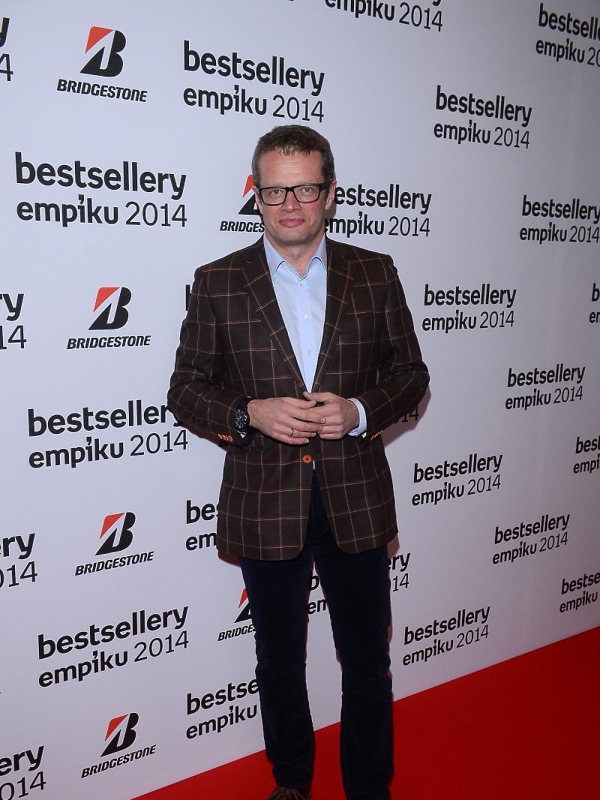 Marcin Meller na gali Bestsellery Empiku 2014