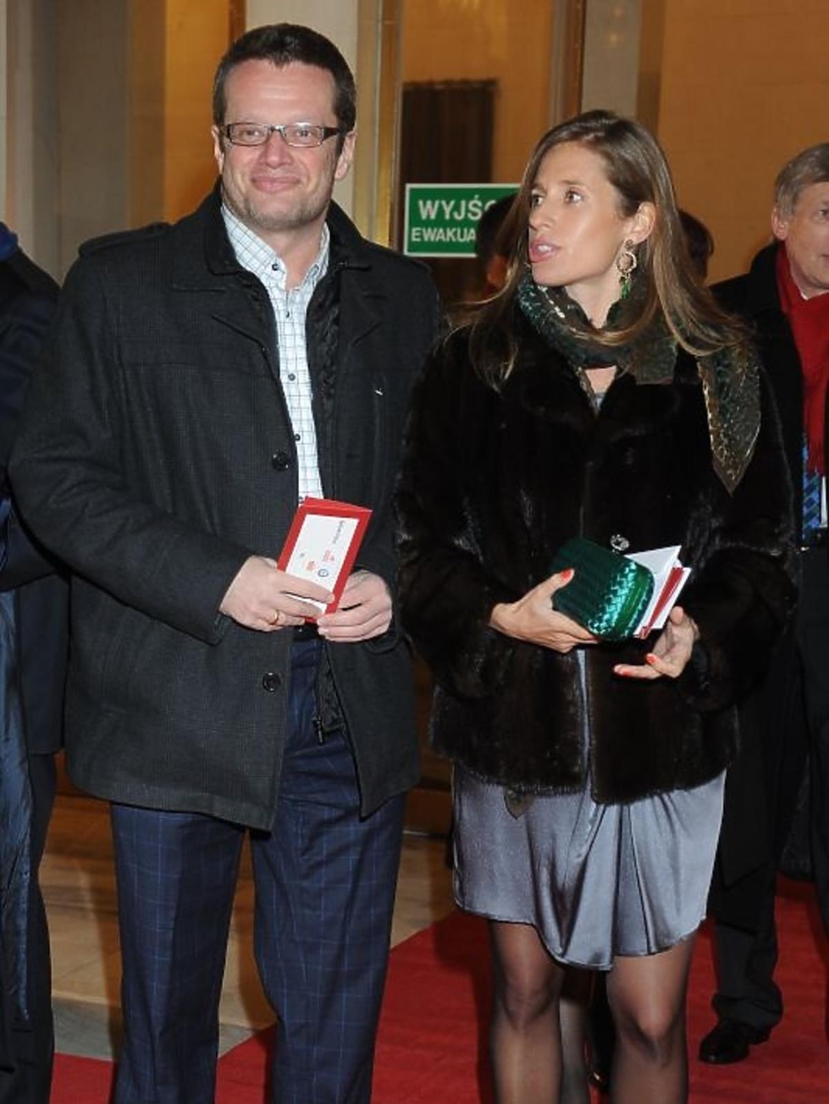 Marcin Meller na gali Paszporty Polityki 2012