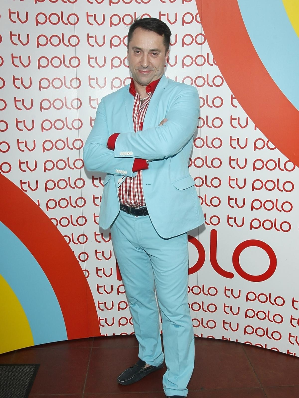 Marcin Miller na urodzinach Polo TV