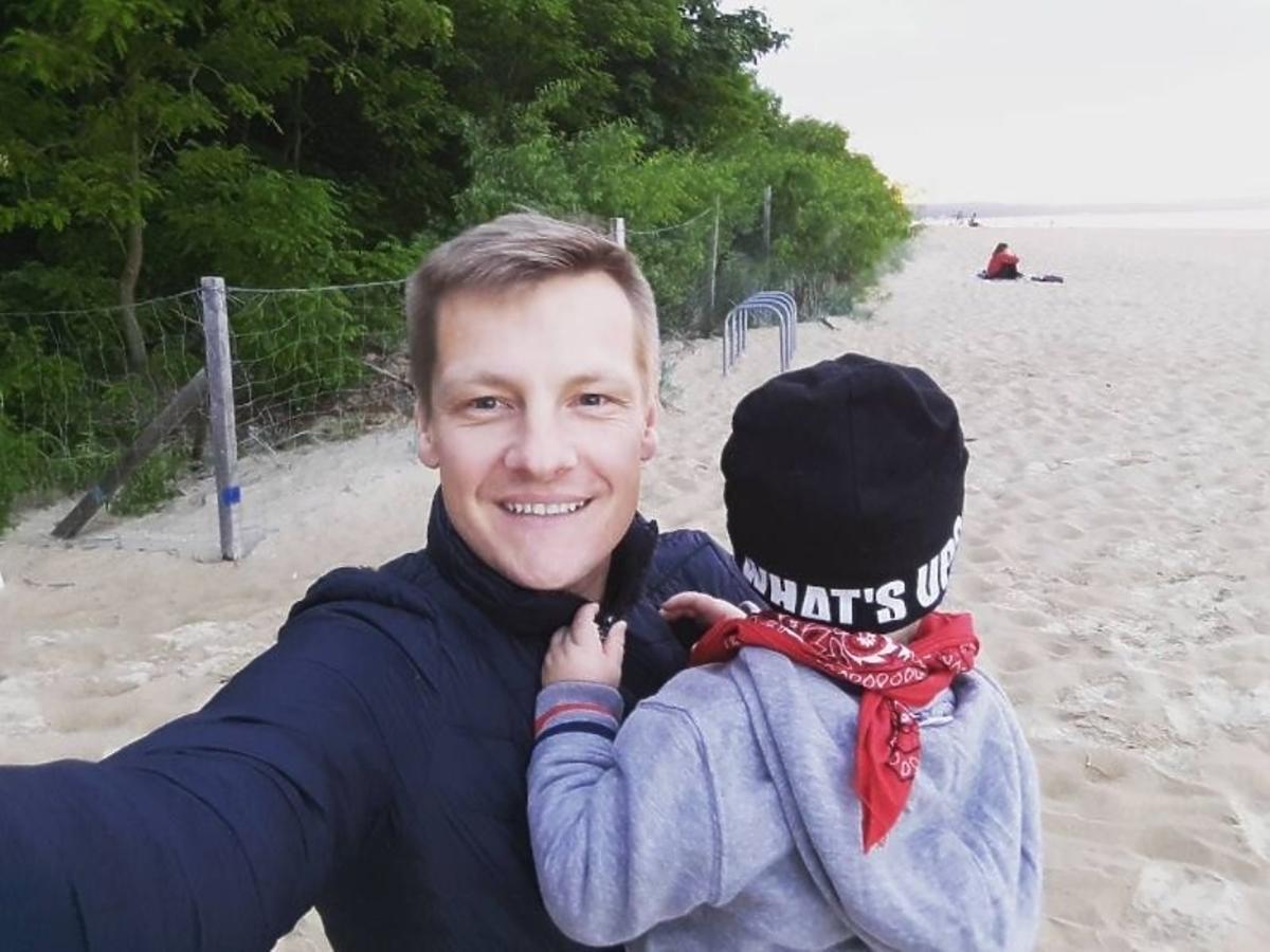 Marcin Mroczek już wkrótce po raz drugi zostanie ojcem