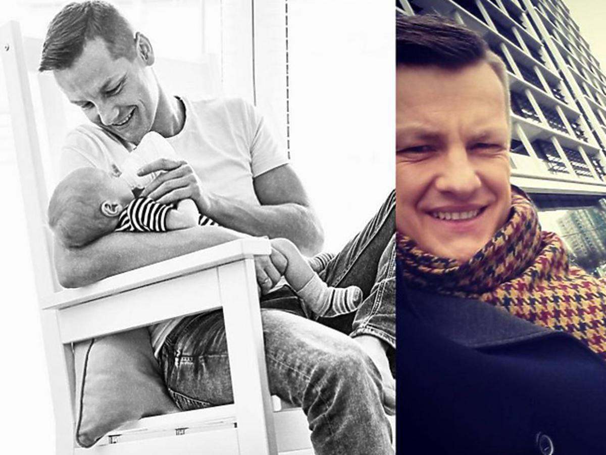 Marcin Mroczek ochrzcił syna