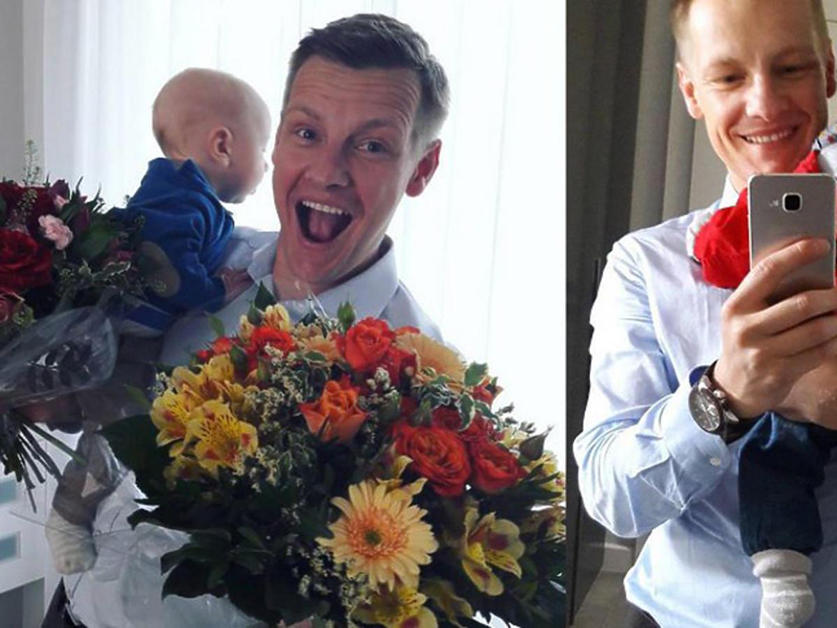 Marcin Mroczek pokazał prezent dla syna z okazji Dnia Dziecka