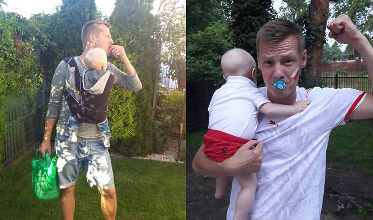 Marcin Mroczek pokazał zdjęcie syna