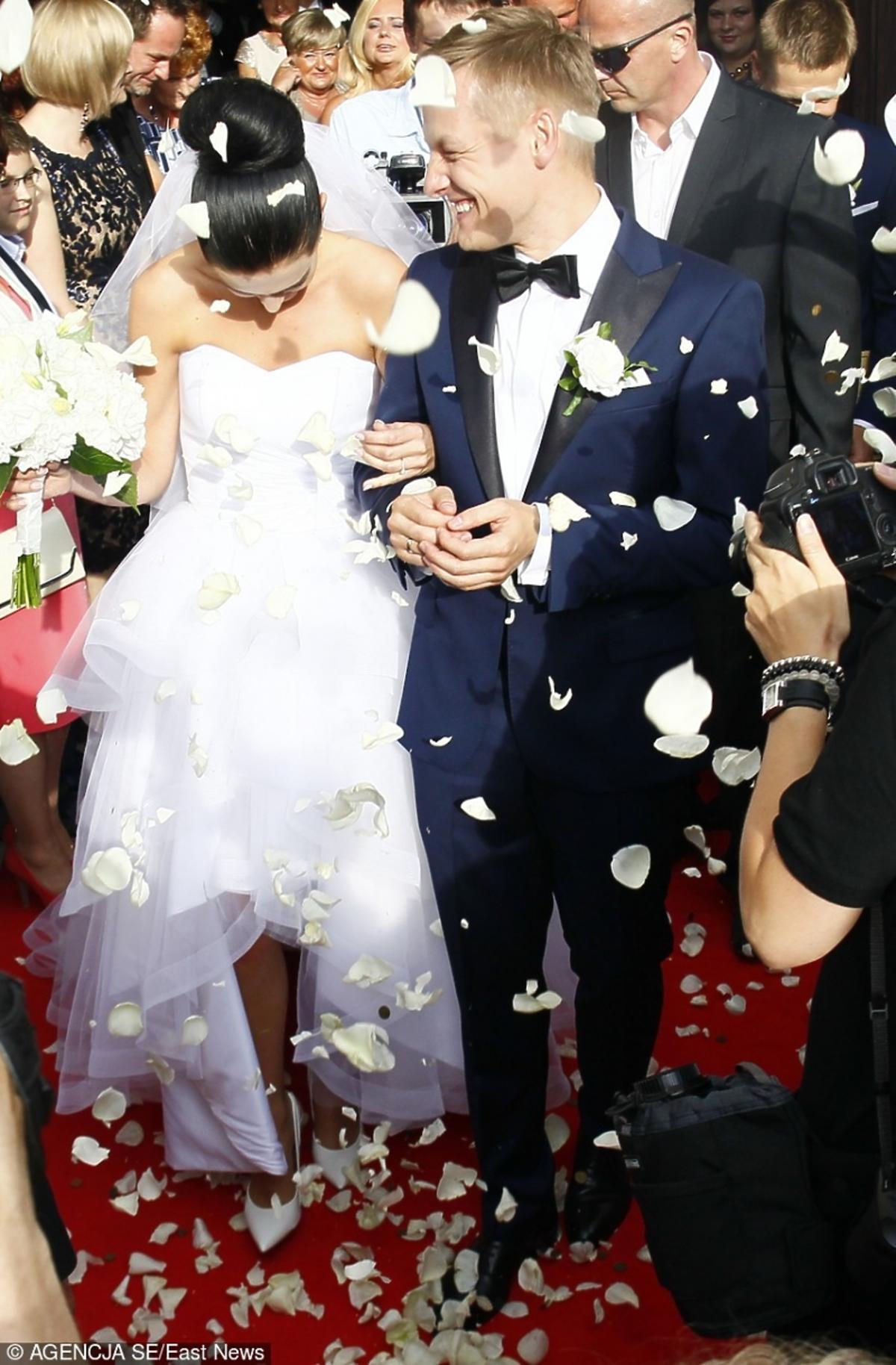 Marcin Mroczek wziął ślub z Marleną Muranowicz w 2013 roku