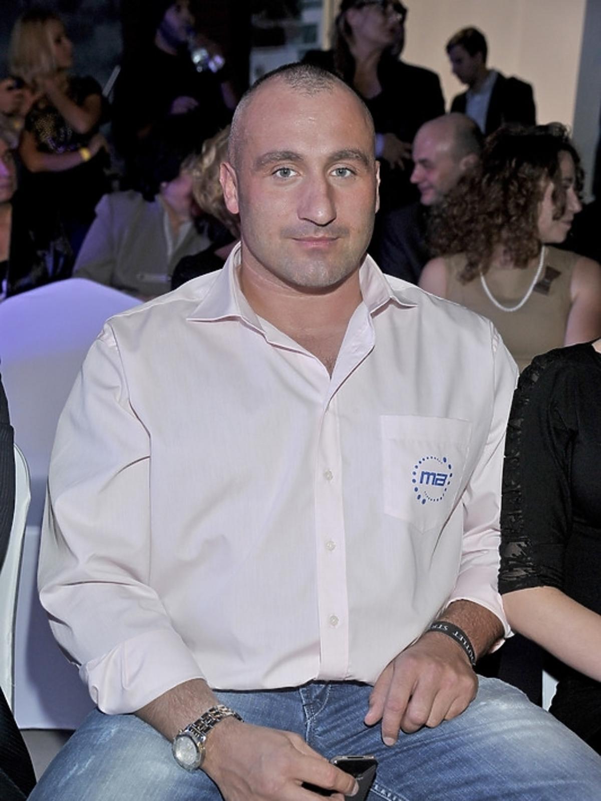 Marcin Najman na otwarciu Ptak Outlet