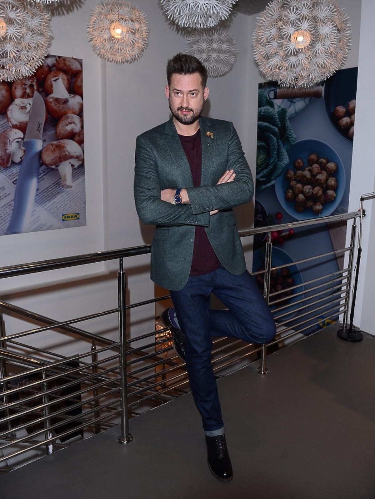 Marcin Prokop na evencie Ikei
