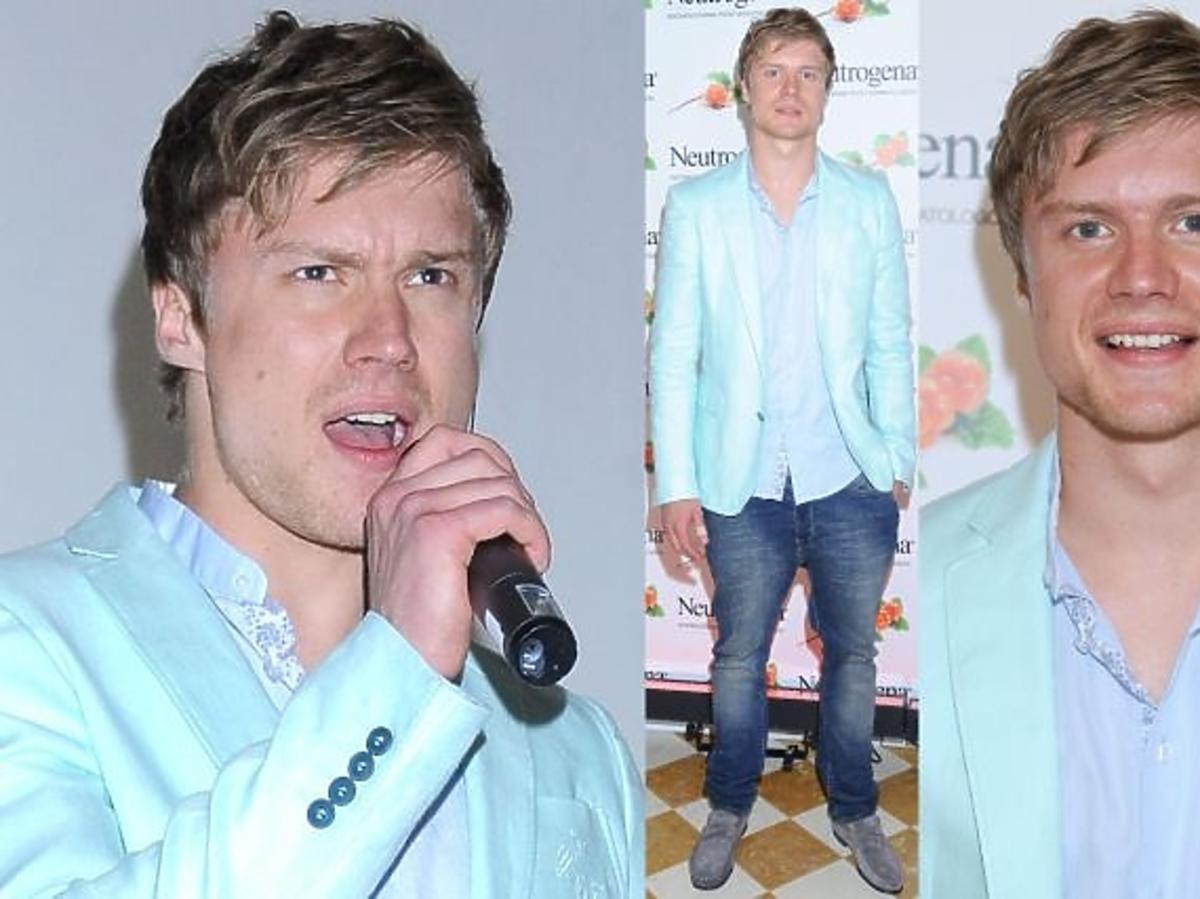Marcin Spenner z X-Factor na salonach