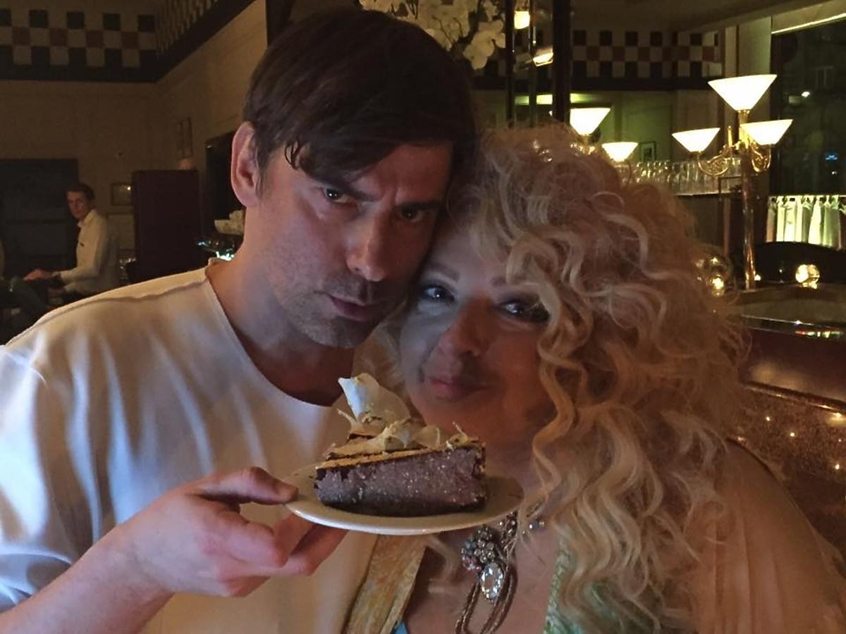 Marcin Tyszka i Magda Gessler na urodzinach Tyszki