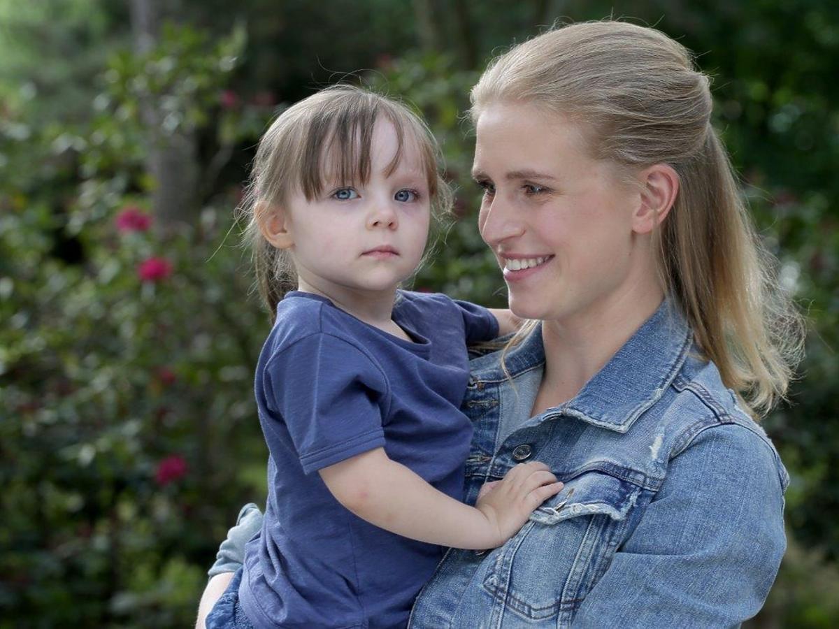 Marcjanna Lelek, Natalka z córką Hanią