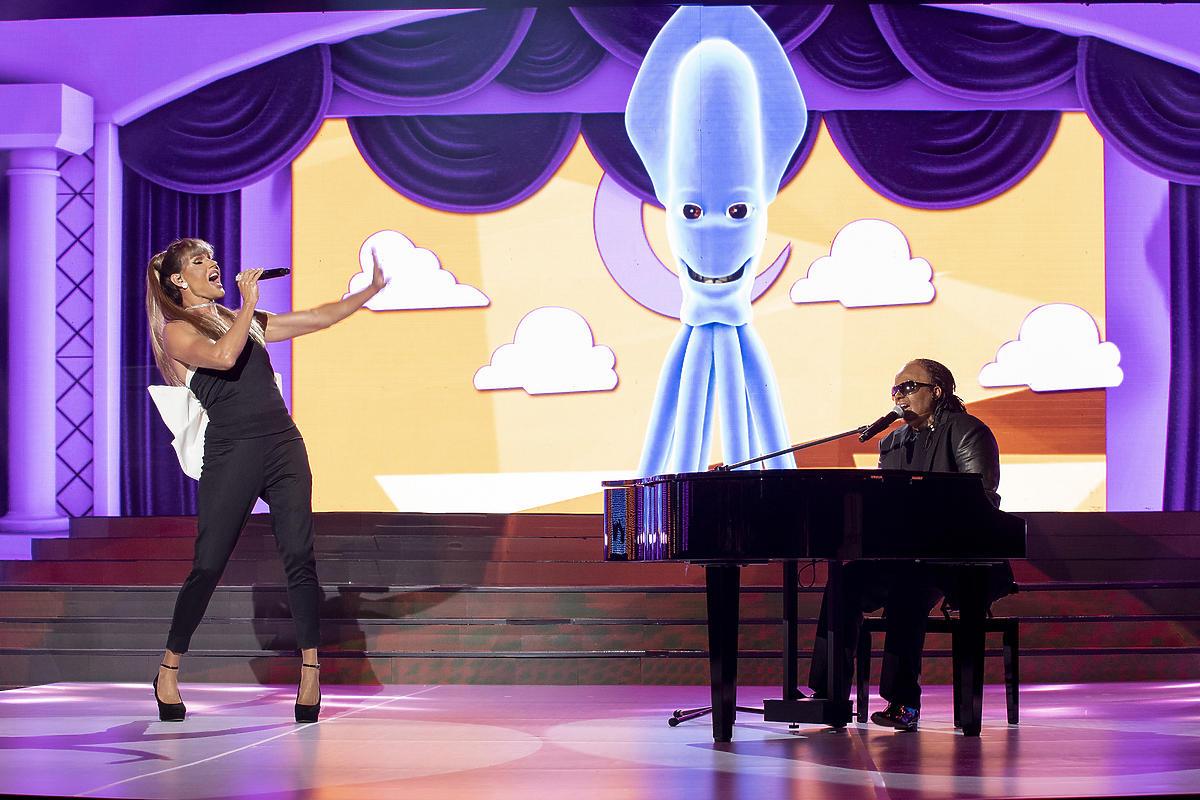 Marek Kaliszuk i Aleksandra Szwed wcielili się w Steviego Wondera oraz Arianę Grande