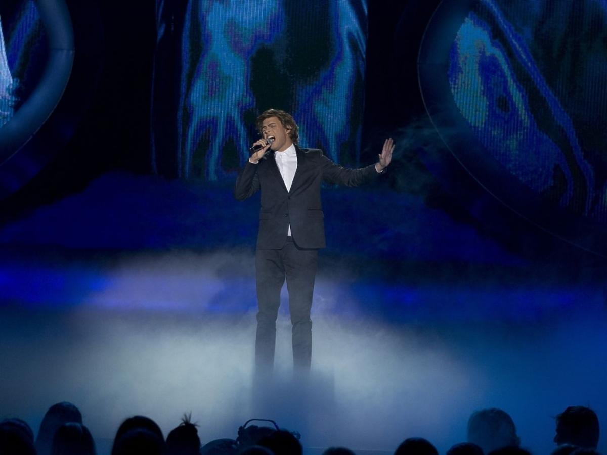 Marek Kaliszuk jako George Michael w Twoja Twarz Brzmi Znajomo