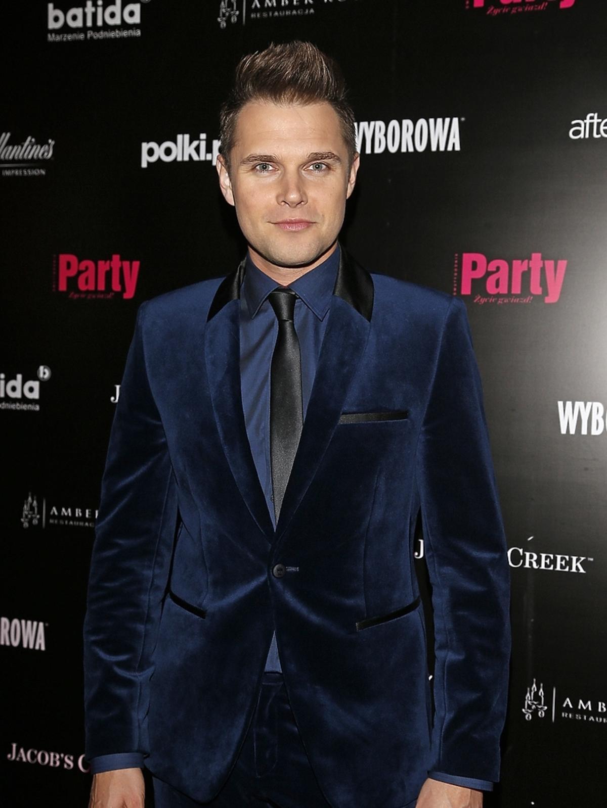 Marek Kaliszuk na 7. urodzinach Party