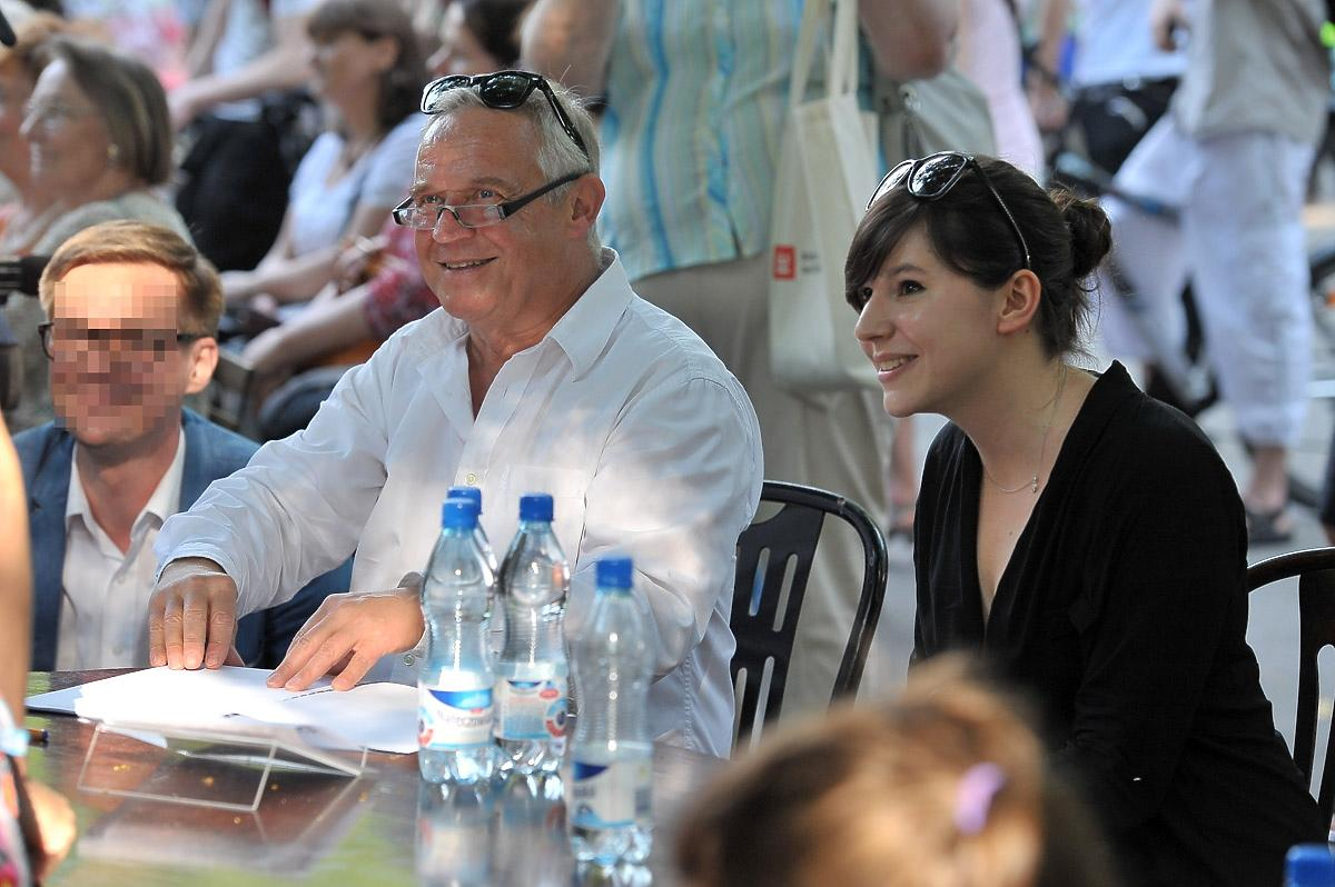 Marek Kondrat i Antonina Turnau spotkanie z fanami aktora