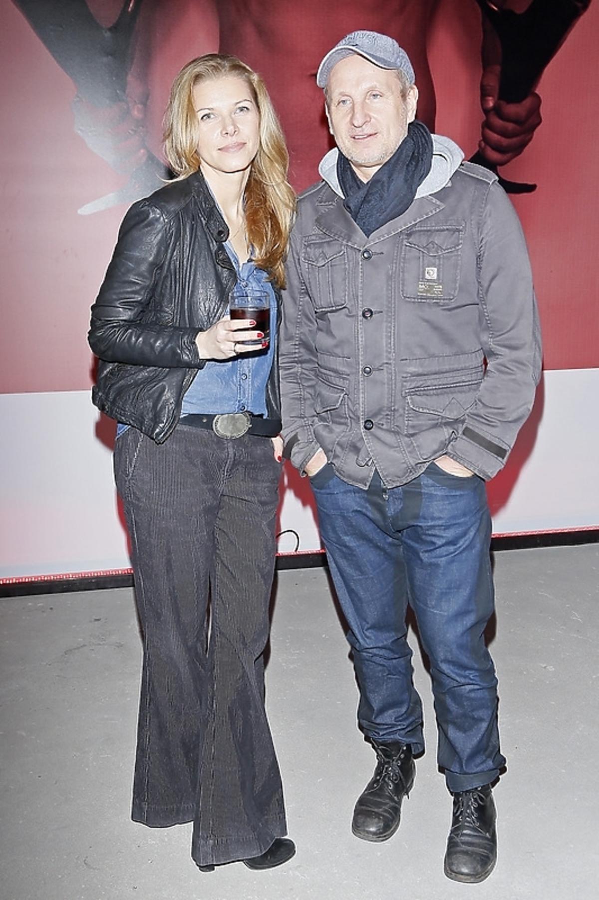 Marek Kościkiewicz z żoną na 5. urodzinach Horn&More