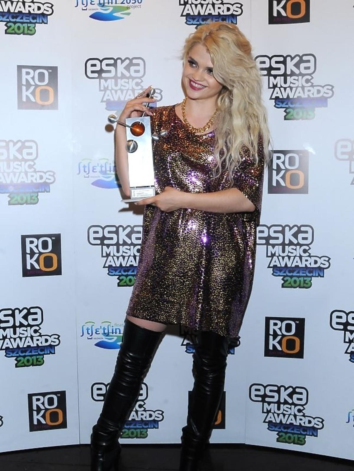 Margaret na gali Eska Music Awards 2013