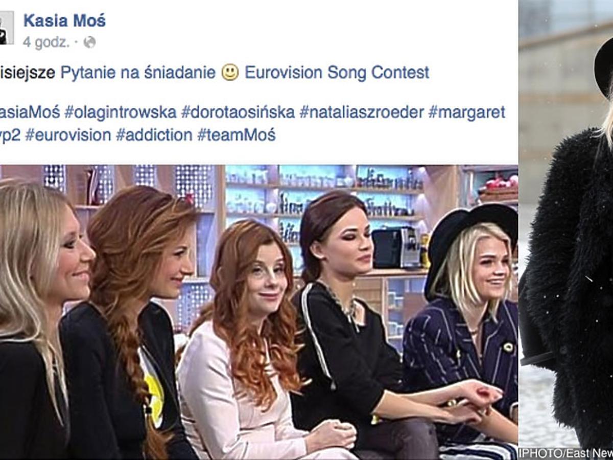 Margaret, Szroeder, Osińska, Moś, Gintrowska na kanapie Pytania na sniadanie