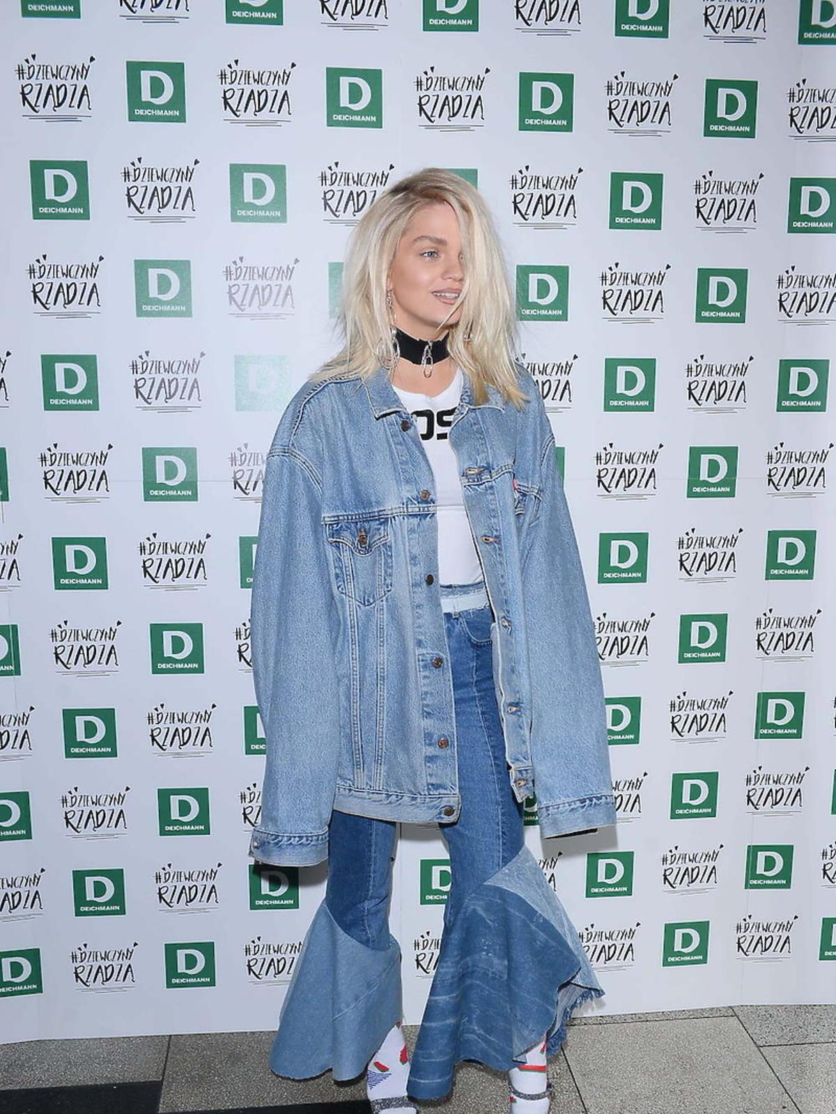 Margaret w dżinsowej kurtce