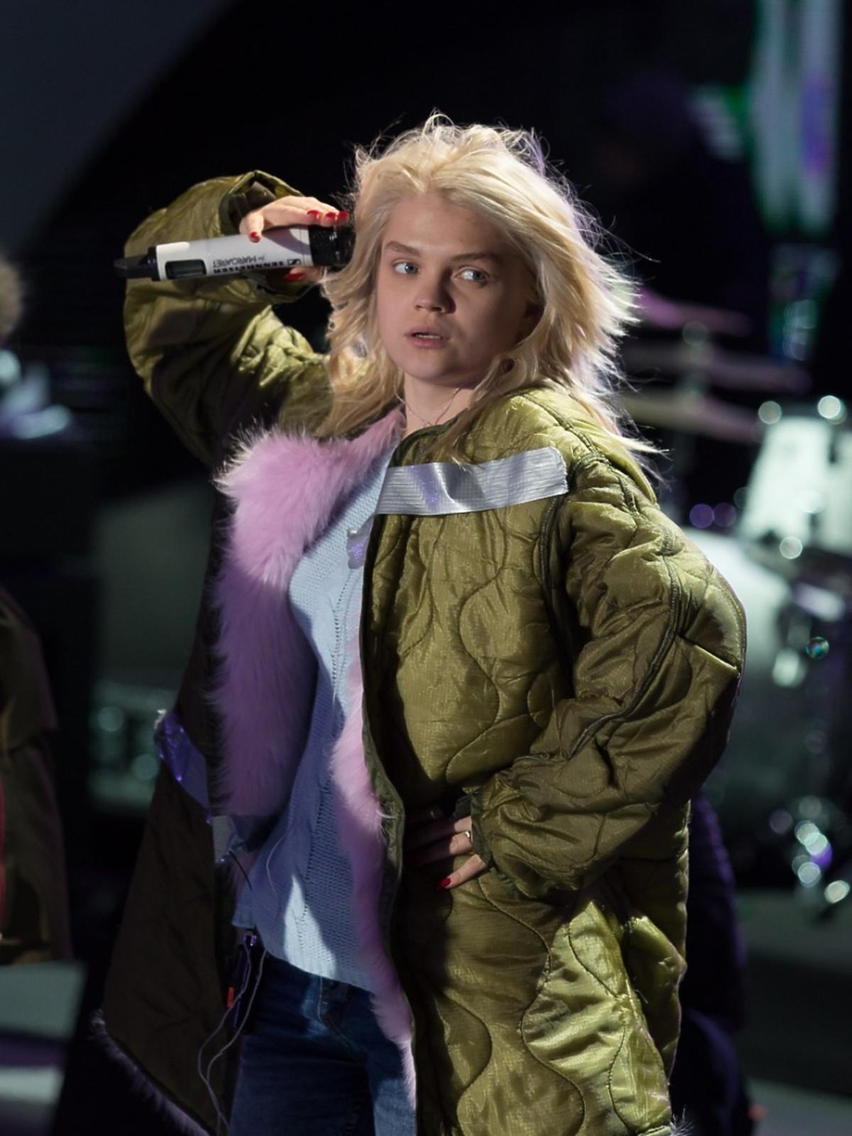 Margaret w zielonej kurtce