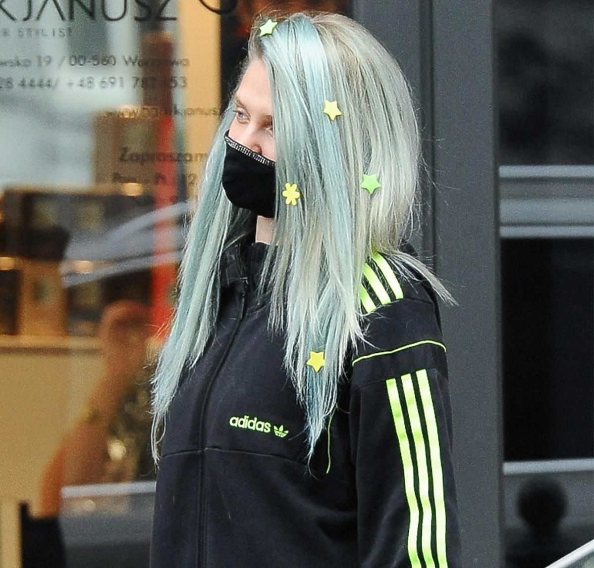 Margaret z zielonymi włosami