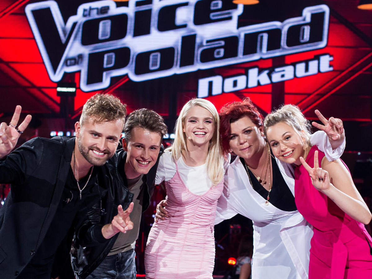 Margerat ze swoją drużyną w The Voice of Poland