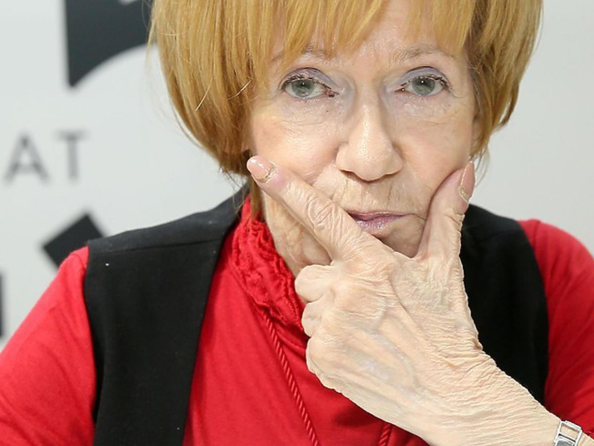 Maria Czubaszek miała anoreksję