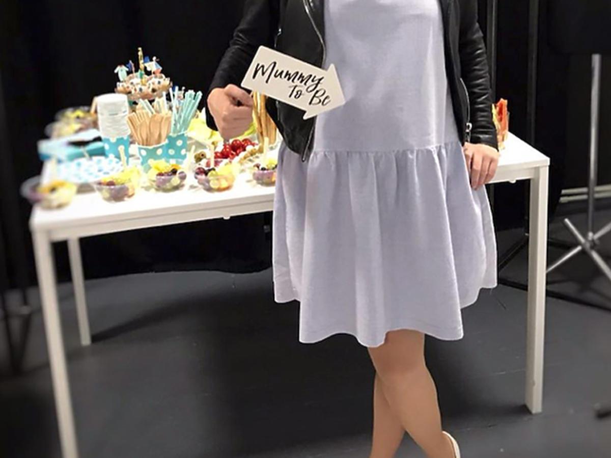 Maria Dejmek, babyshower