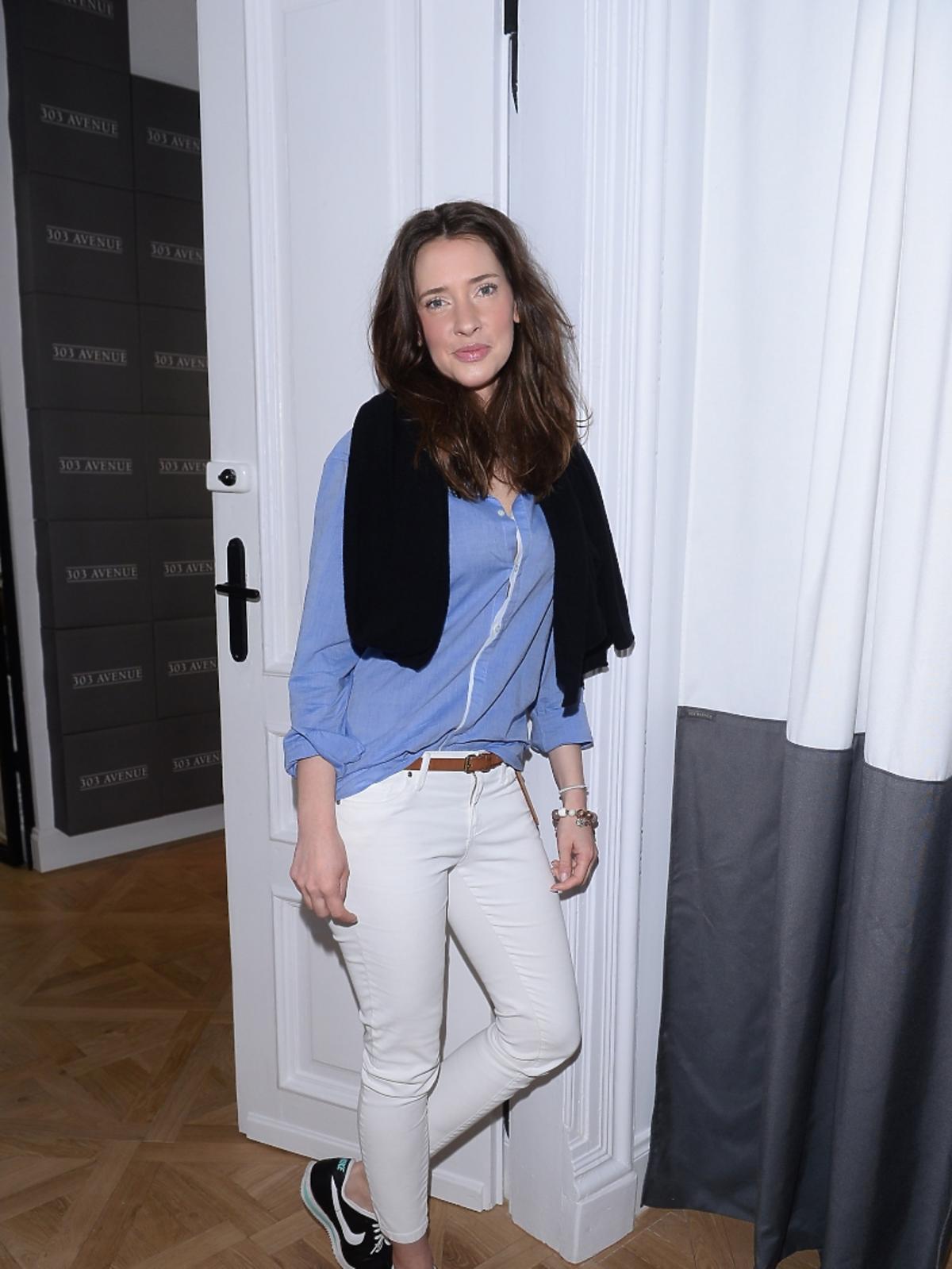 Maria Góralczyk na otwarciu butiku marki 303 Avenue