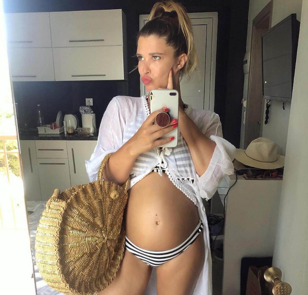 Maria Konarowska pokazała ciążowy brzuszek na Instagramie