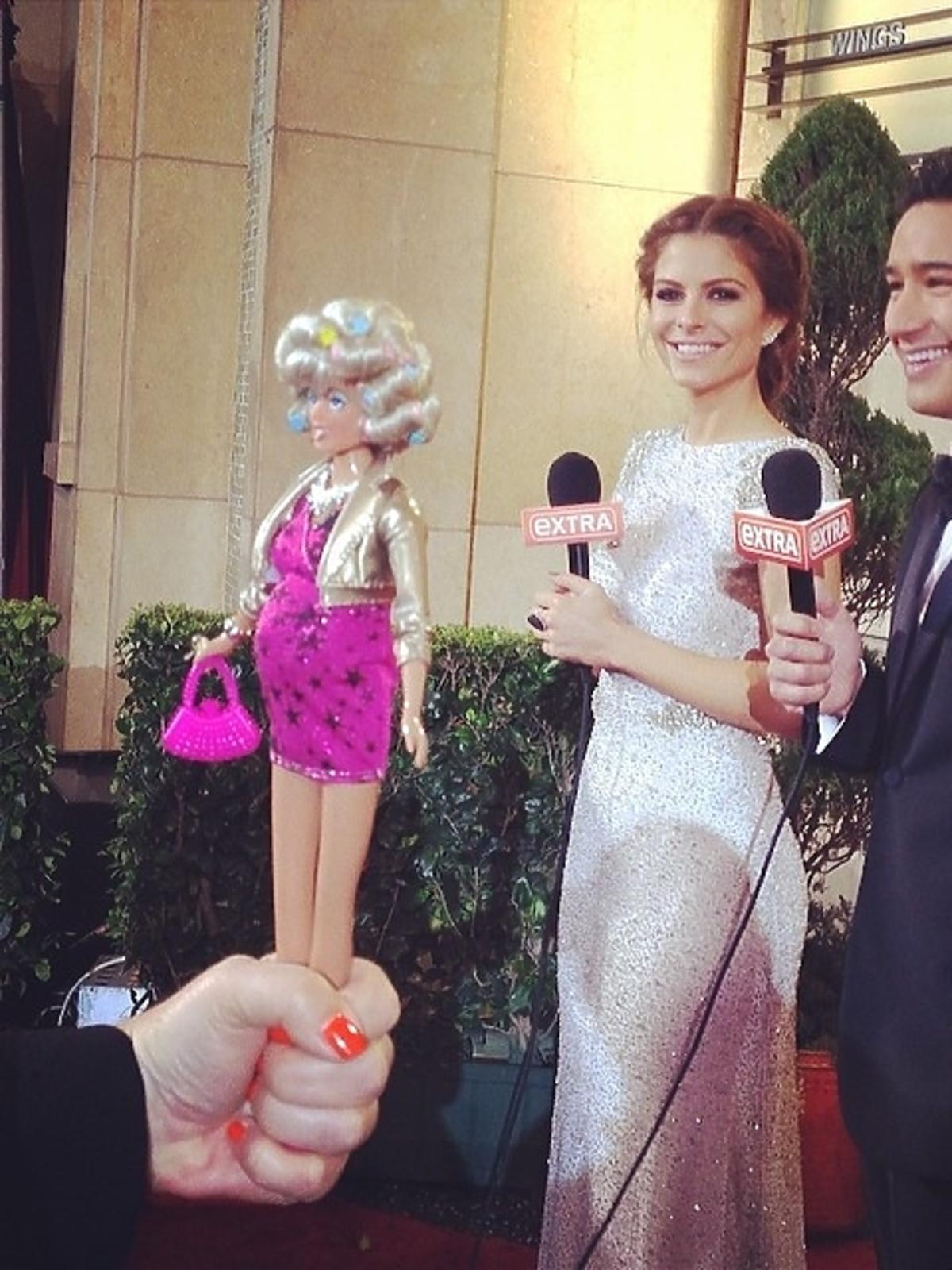 Maria Menounos i Mario Lopez Oscary 2014