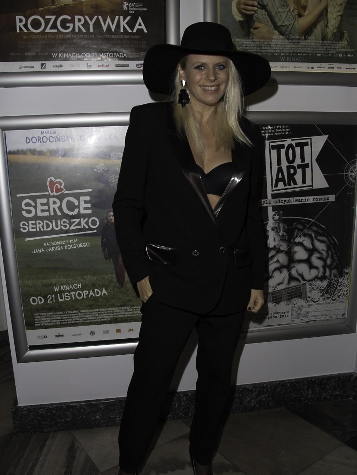 Maria Sadowska na rozdaniu nagród Morgensterna