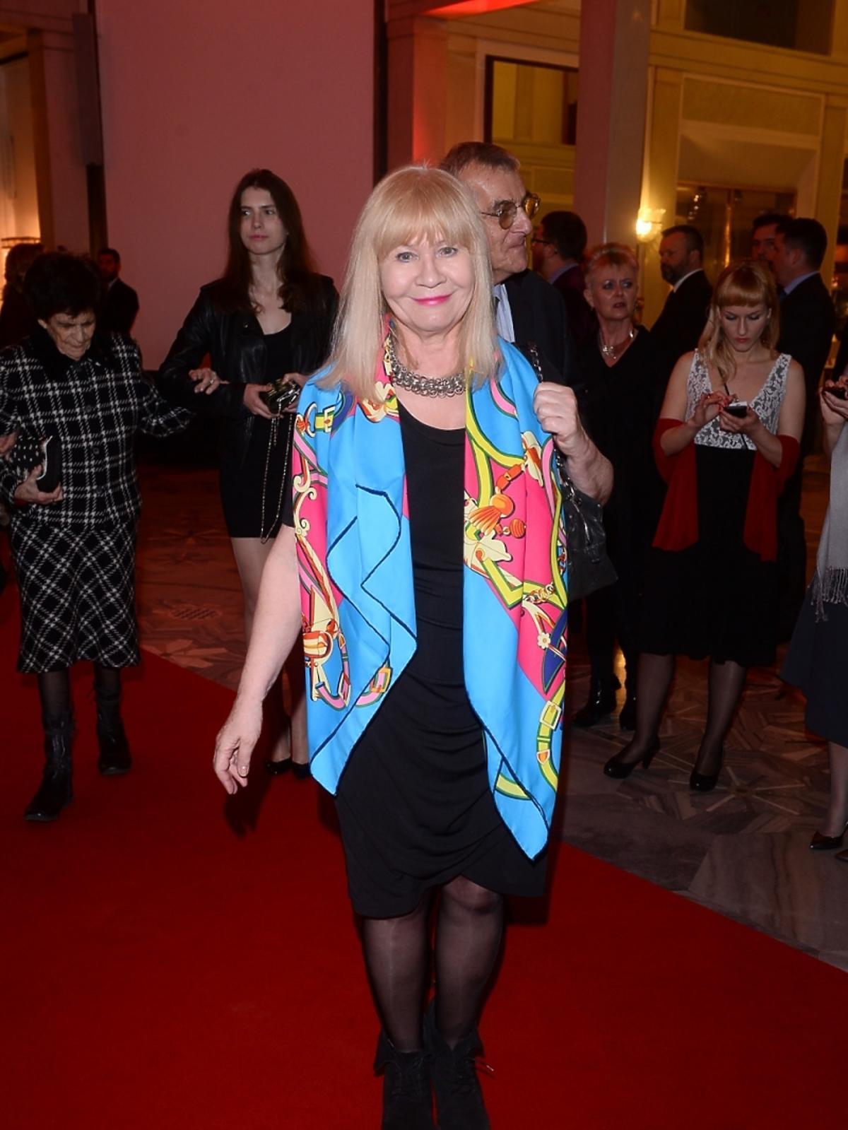 Maria Szabłowska na jubileuszowej gali 90-lecia Polskiego Radia