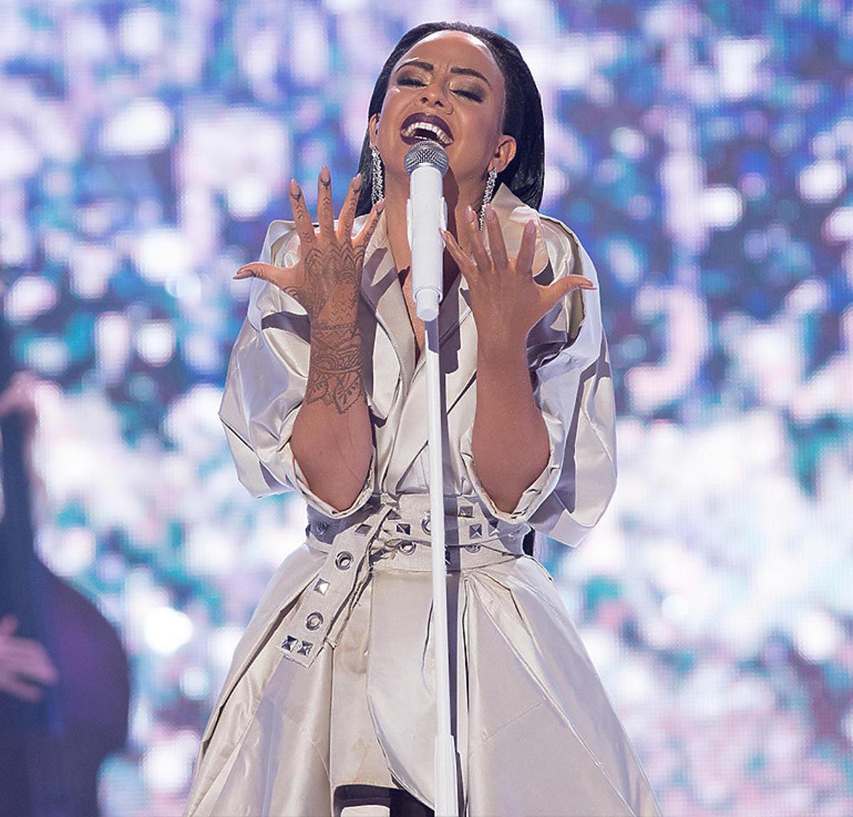 Maria Tyszkiewicz jako Rihanna. Odcinek specjalny