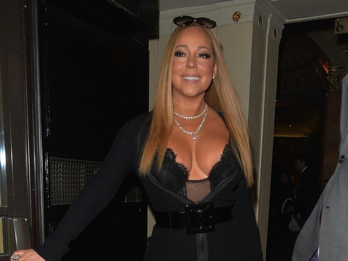 Mariah Carey odsłoniła biust i nogi