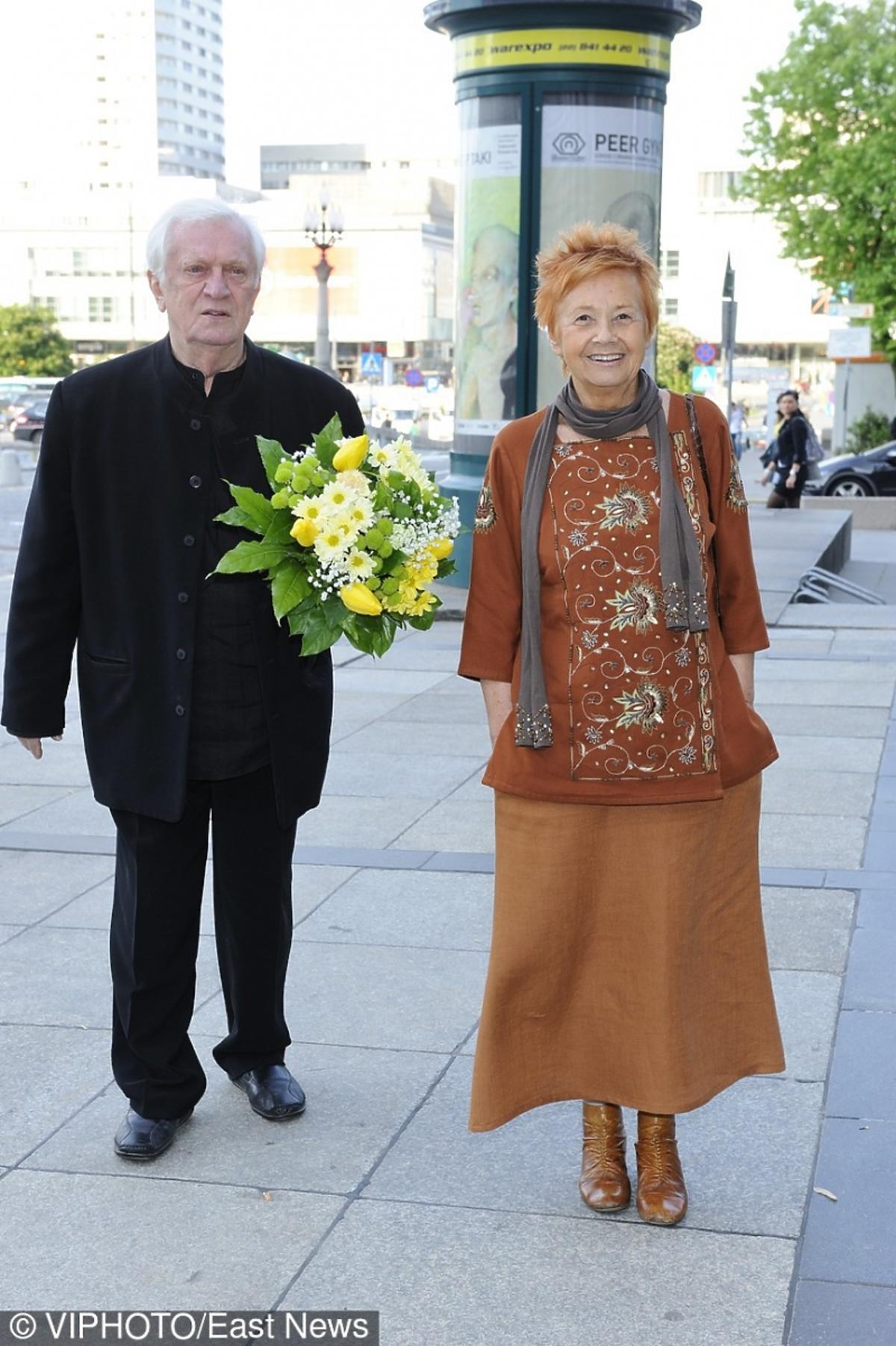 Marian Kociniak z żoną Grażyną
