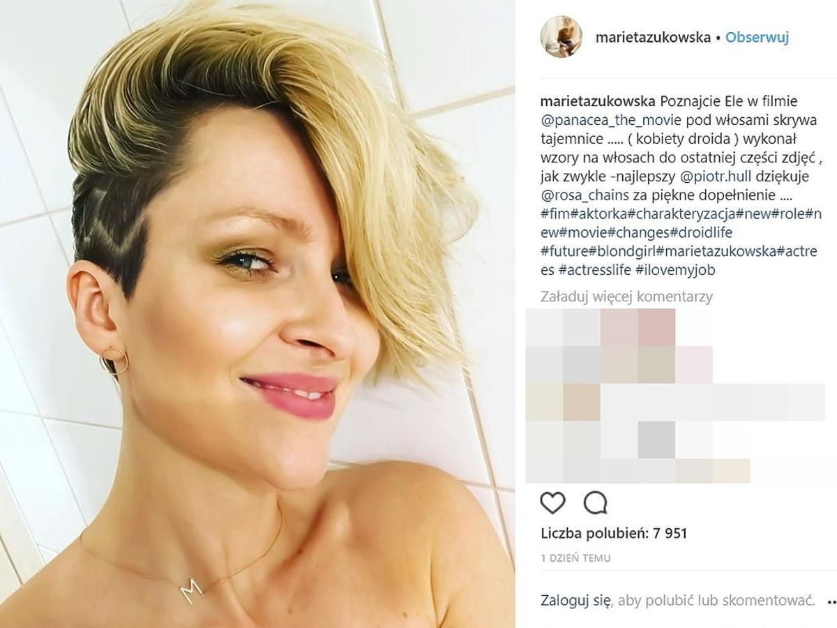 Marieta Żukowska zmieniła fryzurę