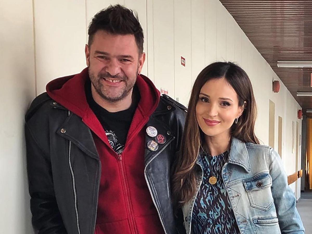 Marina i Tomasz Karolak na planie 39 i pół