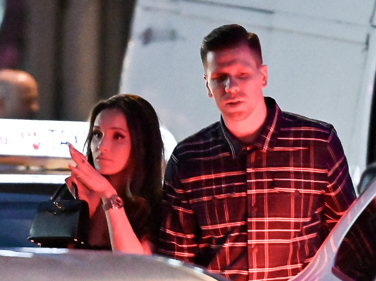Marina i Wojciech Szczęśni wracają z imprezy