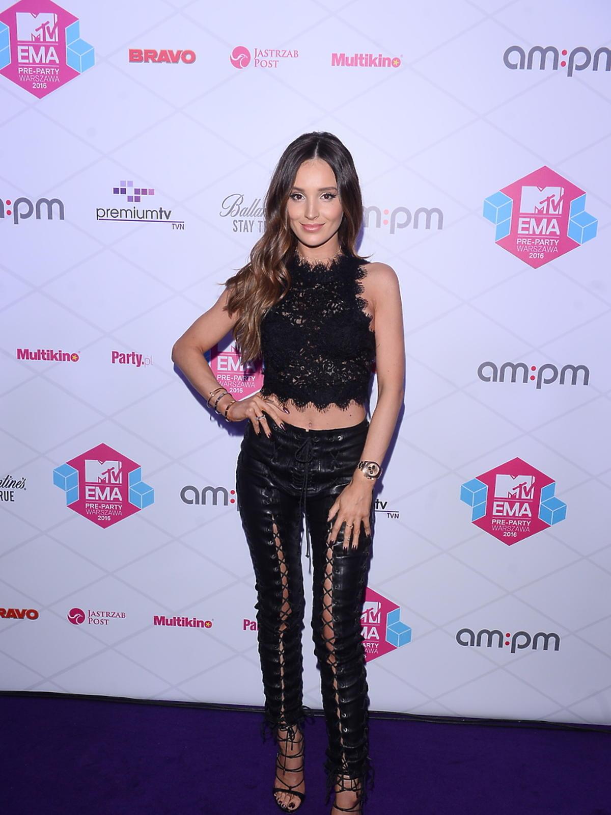 Marina Łuczenko-Szczęsna na MTV EMA Pre Party 2016
