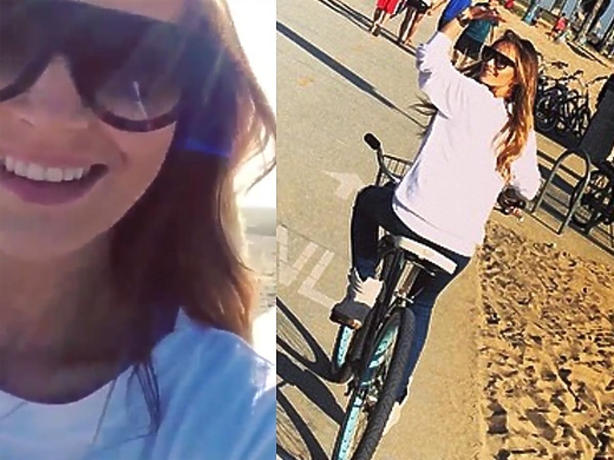 Marina po operacji w Los Angeles