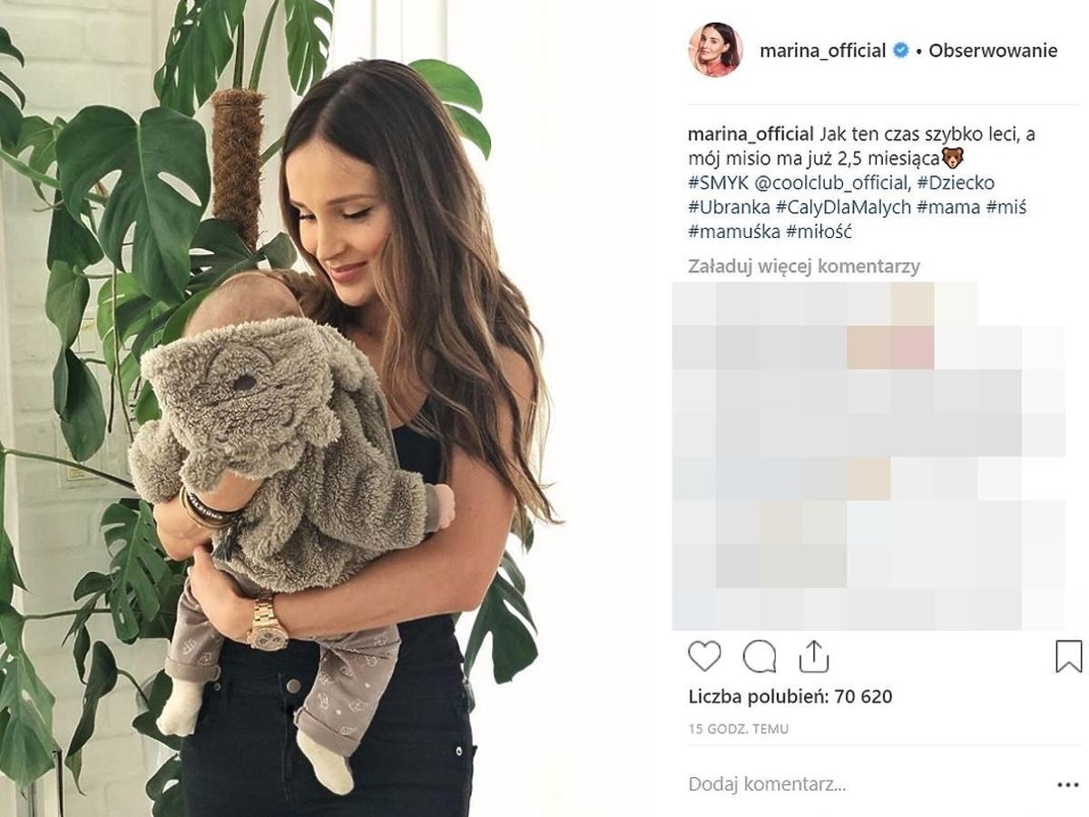 Marina pokazała nowe zdjęcie syna