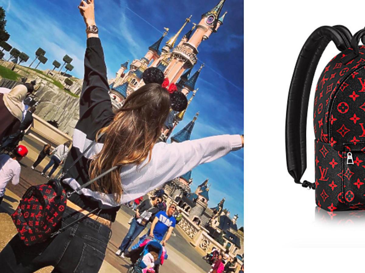 Marina z plecakiem Louis Vuitton