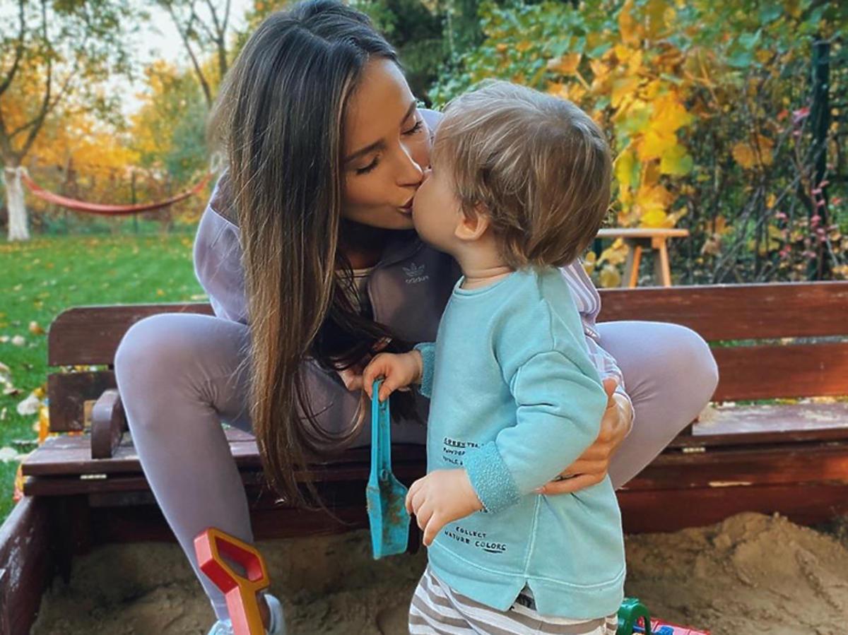 Marina z synem