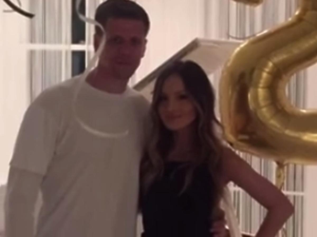Marina zorganizowała Wojciechowi Szczęsnemu imprezę